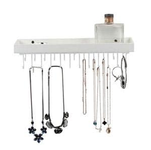 jack cube white hanging jewelry necklace organizer best items for keeping clothes new