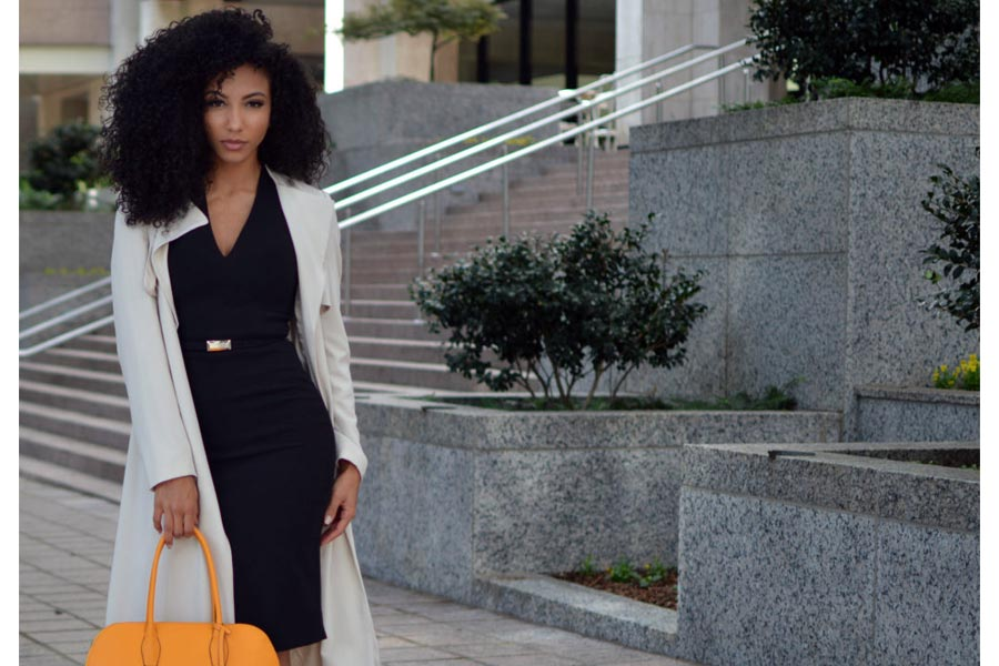 9 staple pieces for work You Need trench coat lid