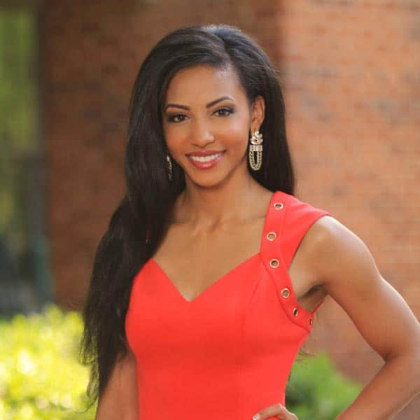 miss North Carolina pageant interview dress outfit