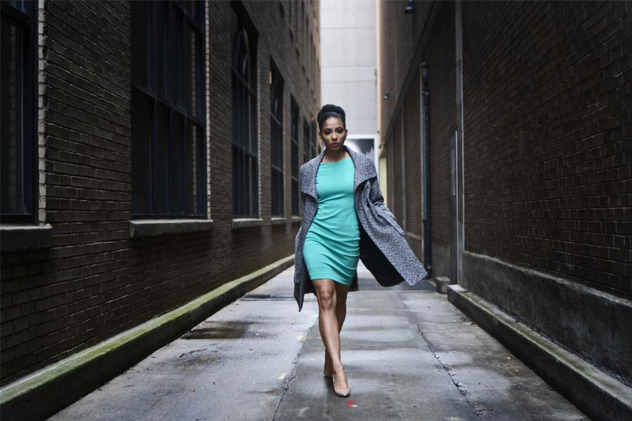 Look of the Week: Green Dress
