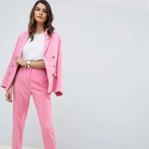 pink suit for work from Asos